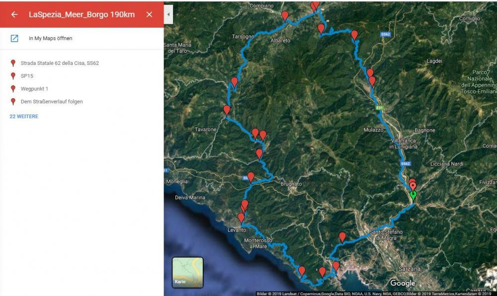 La Spezia - Meer - Borgo - Aulla 190km.JPG